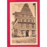 AK - Alte Ansichtskarte - Rostock Altes Haus von 1601 in der Kistenmacherstraße - ca. 1925 Bild 1