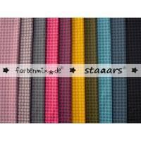 Farbenmix Staars Baumwollstoff beschichtet Wachstuch 25 x 150 cm 10 versch. Farben Bild 1