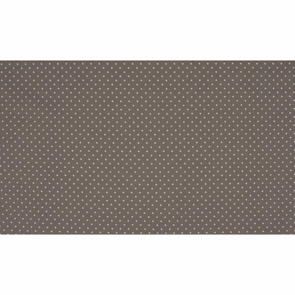 7,50EUR/m Baumwoll-Webware small dots in grau Punkte Bild 1