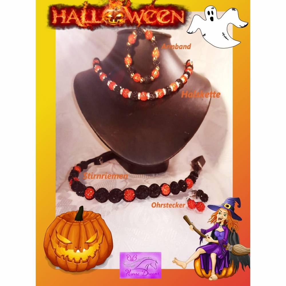 """Schmuck - Set """"Halloween"""" Gr. XL Bild 1"""
