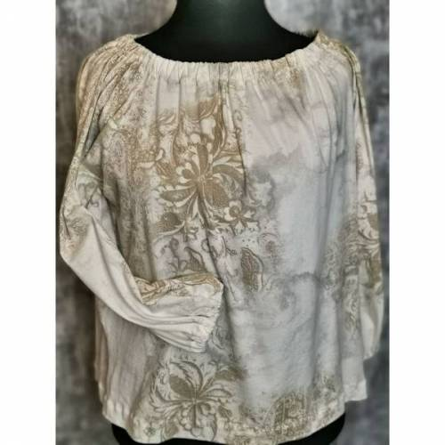 Damen Bluse Baumwoll Jersey - Einzelstück!