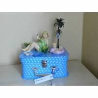 Geldgeschenk Koffer Geburtstag Urlaub Kur Erholung maritim Geschenkidee Bild 1
