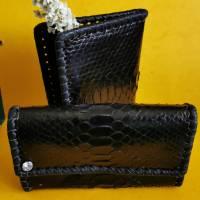 Exclusives Set, Portemonnaie, Geldbörse und Dokumententasche Bild 1