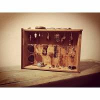 Schmuckwandhalter Schmuckständer Schmuckhalter für Ketten, Ringe, Uhren und Ohrringe Upcycling  Bild 1
