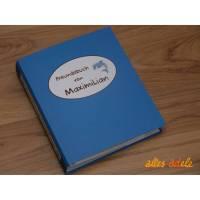 Freundebuch nach Maß   Freundealbum mit Namen und Wunschmotiv Bild 1