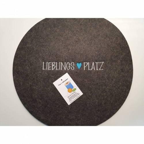"""Tischset """"Lieblingsplatz"""""""