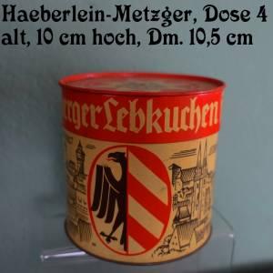 Vintage Lebkuchendosen der traditionsreichen Nürnberger Firma Haeberlein-Metzger