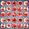 288 - Cabochon Vorlagen, 25mm 18mm 14mm 12mm, rund, Cabochon Motive, Bottle Cap images abstrakt modern pastell  Bild 2