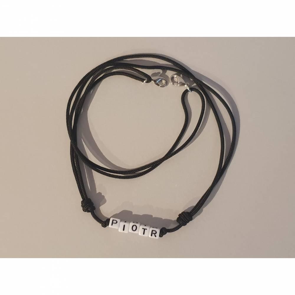 Maskenband, Maskenkette, Mundschutzband mit Wunschtext personalisiert Bild 1
