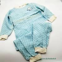 Vintage, 2tlg Kinder Schlafanzug, Marke Schiesser, Tausendsassa Größe 104 Bild 1