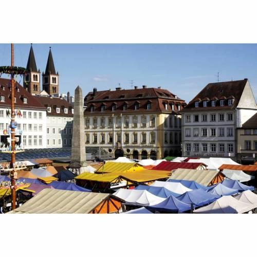 Druckbares Foto - Kunst - Digital -  Download - Printable Photo -  Impression Markttage
