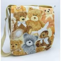 Kindergartentasche Teddys - Unikat von hessmade Bild 1