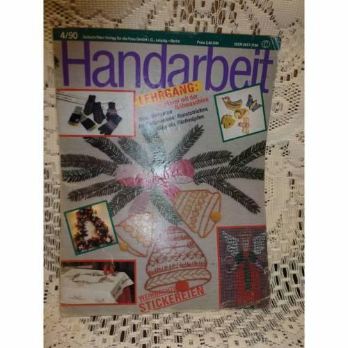 Handarbeit - Zeitschrift - 4/90 - Verlag für die Frau
