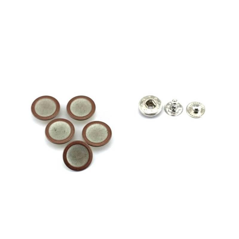 "5 Druckknöpfe aus Metall 17mm ""Copperring"" Bild 1"