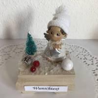 Weihnachten Geldgeschenk Nikolaus Geburtstag Engel Weihnachtsgeschenk Geld verschenken Winterlandschaft Schnee Bild 1