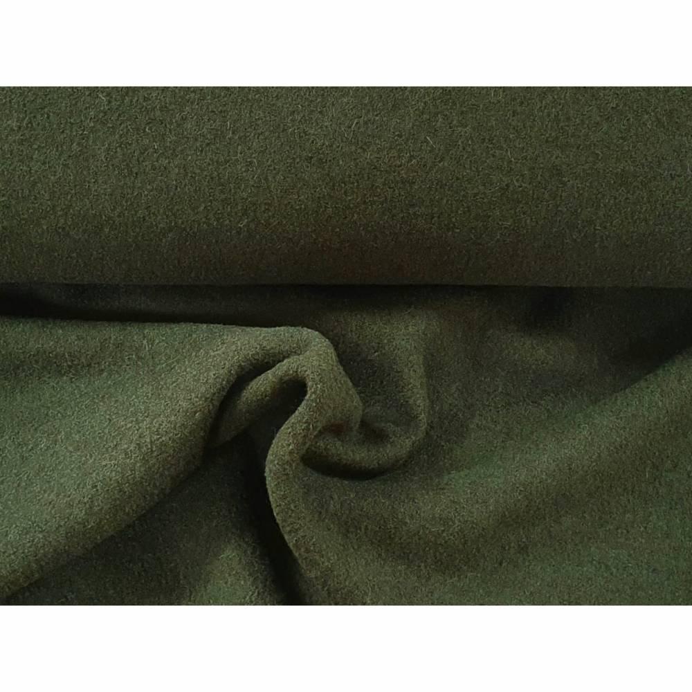 """Walk, Walkloden Naomi """"gekochte Wolle"""" - olivgrün 764 - Swafing Bild 1"""
