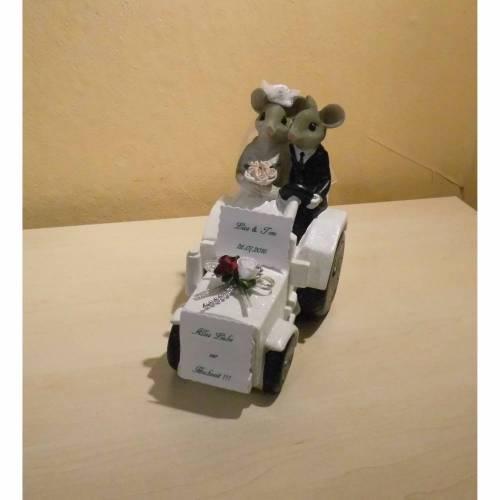 Geldgeschenk - Hochzeit - Der weiße Traktor kommt - Bauernhochzeit - Geschenkidee
