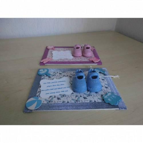 Baby Geburt Taufe Geldgeschenk Geschenkdeko für einen Jungen oder ein Mädchen