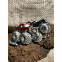 Buckle / Wechselschnalle, Hot Wheels Monster Truck, Gürtelschnalle, Pewter (Bu3)  Bild 1
