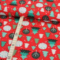 Baumwolle Weihnachten Weihnachtsbäume Bild 1