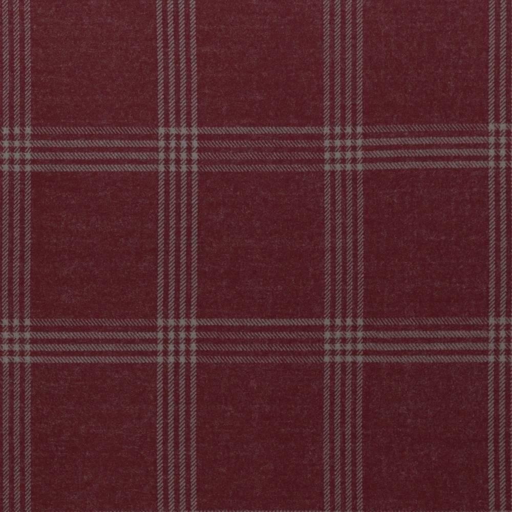 "16,50EUR/m traumhafter Jaquard  ""Cozy Collection"" Karo in rot bordeaux von Lycklig Design Bild 1"