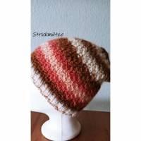 Mütze, Farbverlaufswolle, 100% Superwaschwolle Bild 1