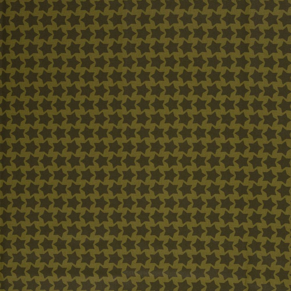 20,90EUR/m -  Farbenmix Staaars beschichtete Baumwolle heugrün/khaki Bild 1