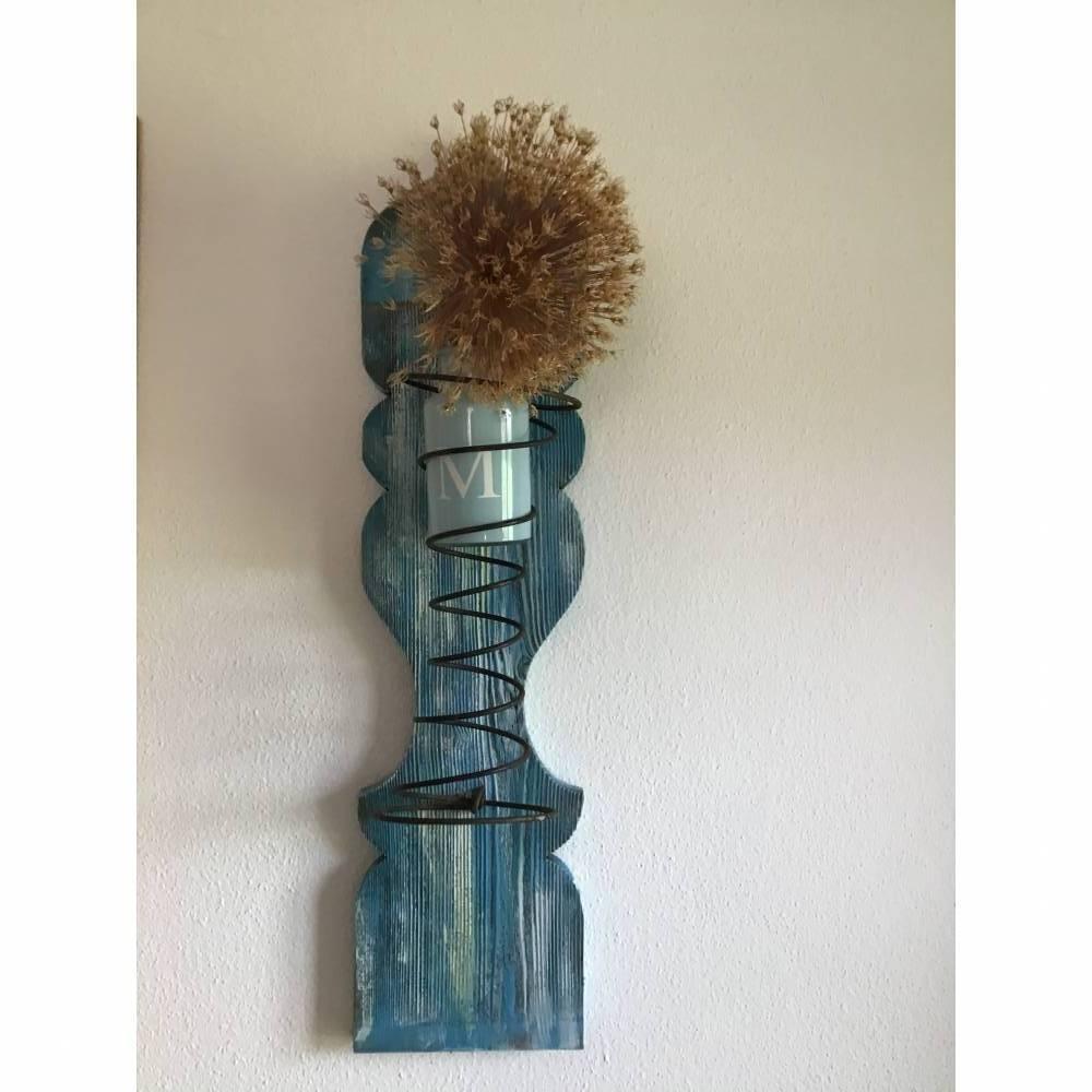Upcycling Kerzenständer, Vasenhalter, 2. Wahl Bild 1