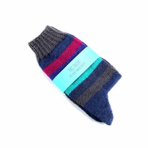 Handgestrickte Socken Größe 38/39