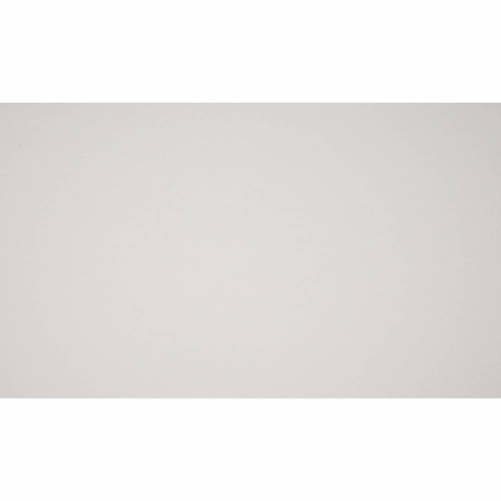 9,90EUR/m Baumwolljersey uni weiß Bild 1