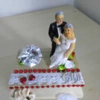 Dekoration Geldgeschenk  Diamantene Hochzeit 60 Jahre verheiratet - Diamanthochzeit - Geschenkidee Bild 2