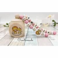 Zahndose mit Namen Löwe Jungen Mädchen Milchzahndose Bild 1