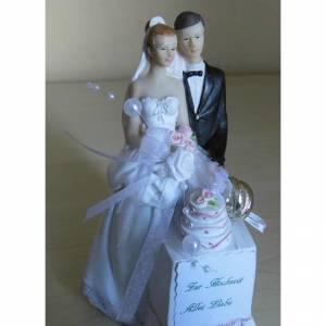 Geschenk zur Hochzeit Hochzeitstorte Geldgeschenk - Geschenkidee