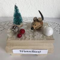 Geldgeschenk Weihnachten Geburtstag Nikolaus Weihnachtsgeschenk Ski fahren Geld verschenken Winterlandschaft Schnee Bild 1
