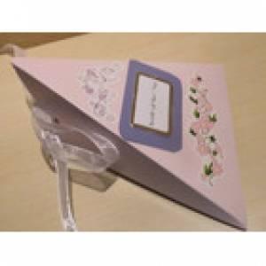 Geburtstag Jugendweihe -Geldgeschenk Karte  Dreieckschachtel - Heute ist Dein Tag