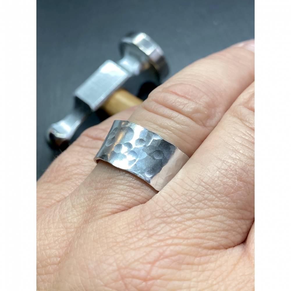 Ring Martellato Bandring edel und stilvoll ... jeder Ring ein Unikat Bild 1