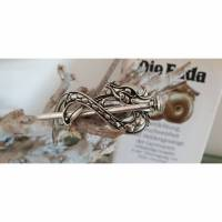 Haarspange im keltischen Design mit bezauberndem Knotwork No1 Bild 1