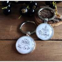Schlüsselanhänger Geschenk Mama, Anhänger Frau Bild 1