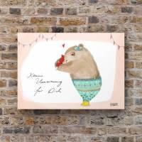 3 x Postkarte Umarmung für Dich