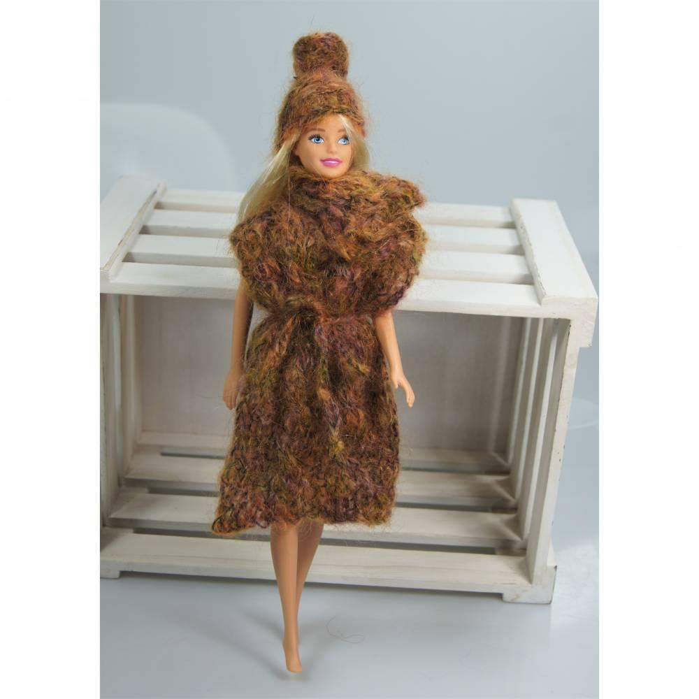 warme Stricktunika für die Ankleidepuppe Bild 1