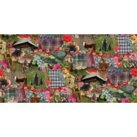 Schwarzwald Heimat Heimatliebe Black forest Collage - Dekostoff Bild 1