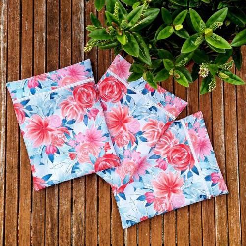 Wetbag / Nasstasche wasserdicht - passend für Stoffbinden Badeanzug Bikini Unterwäsche oder als Kulturbeutel