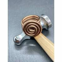 Ring Spiralring Marrone Bild 1
