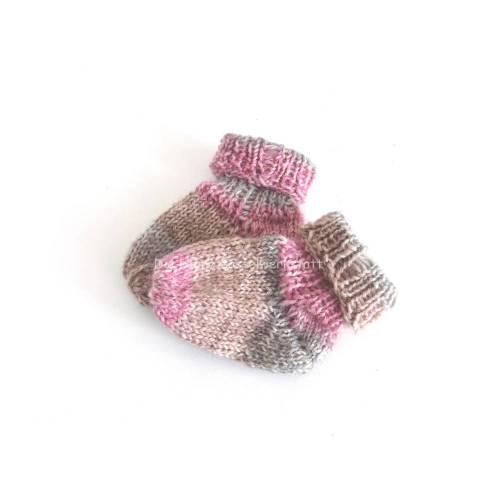 Babysöckchen, Socken gestrickt