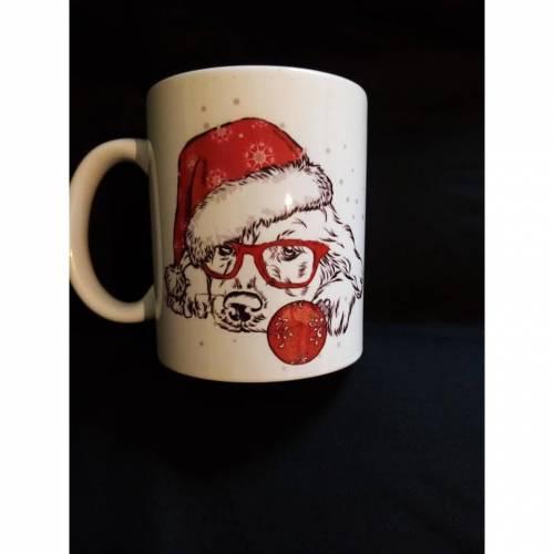 Verschiedene bedruckte Tassen,Weihnachten,Tiere, Blumen, Landschaft, Mädchen, Junge, Erwachsene