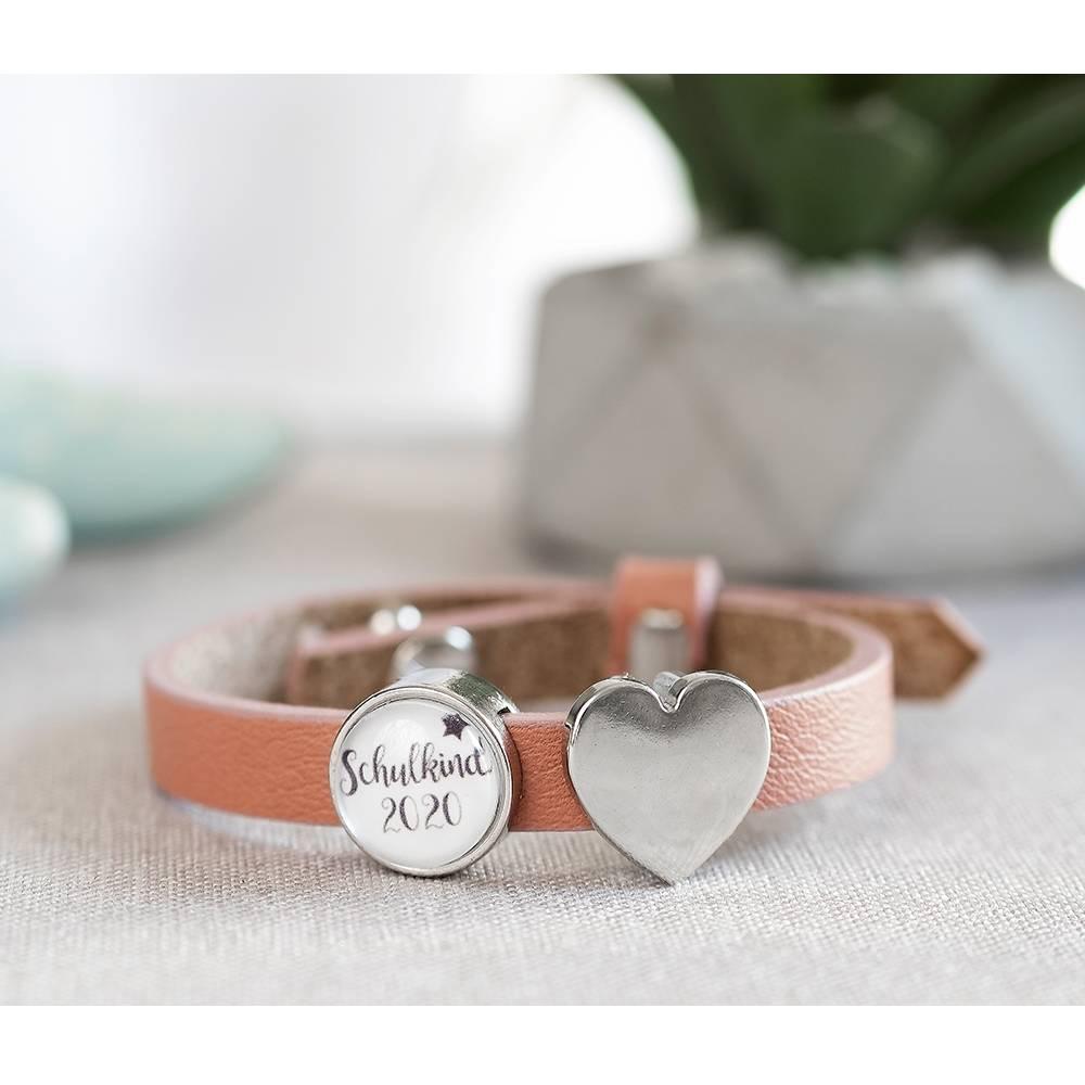 Schulkind Armband, Kinderarmband, Schulkind 2021, Schulanfang, Schultüte, Schulkindarmband, personalisiertes Armband, Einschulung Geschenk Bild 1