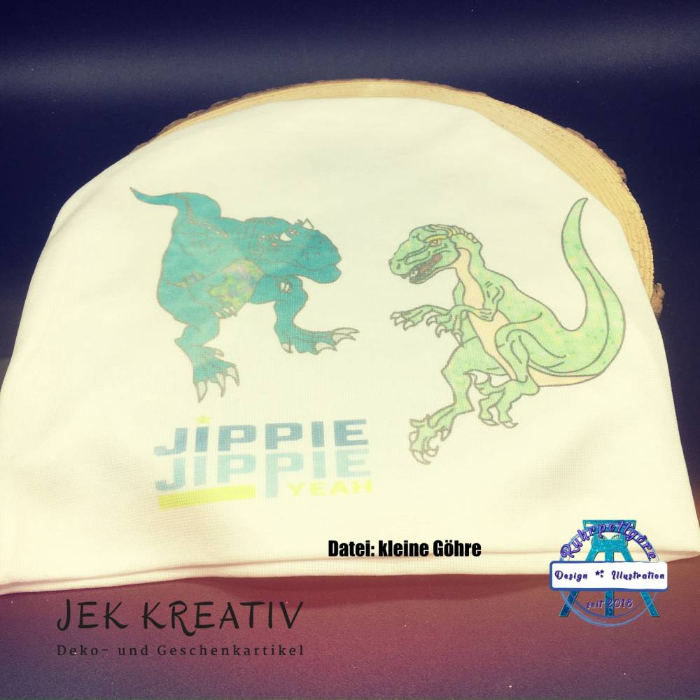 Mütze, Beanie, personalisiert, Kopfbedeckung Bild 1
