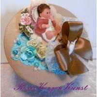 Geldgeschenk * Geschenkbox * Geschenkverpackung  zur Taufe * Taufgeschenk * Geburt * Babyparty * 1. Geburtstag * Bild 1