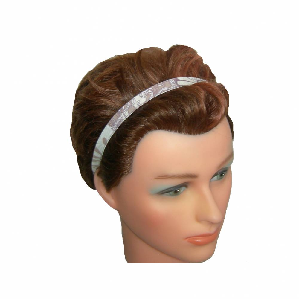Haarband schmal lila/malve Bild 1