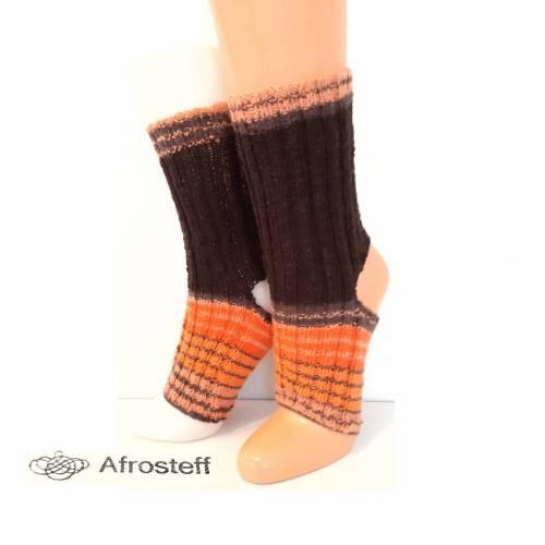 Yoga Socken, Pediküre Socken Gr. 38-40 mit Baumwolle Viskose Anteil